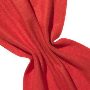 Nålefilt ull/silke 120 cm - 100g/m, passion red/oransje