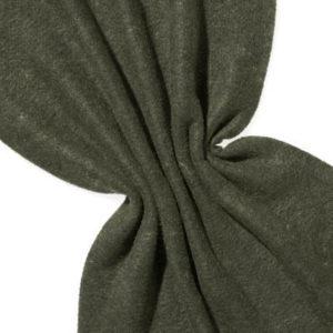 Nålefilt ull/silke 120 cm - 100g/m, svart/skarp gul