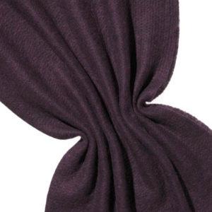 Nålefilt ull/silke 120 cm - 100g/m, svart/rosa
