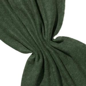Nålefilt ull/silke 120 cm - 100g/m, svart/neon grønn
