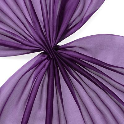 Pongee silke 90 cm - 20 g/m, fiolett