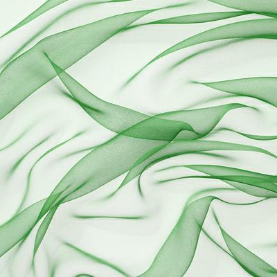 Silkechiffon 110 cm - 18 g/m, mintgrønn