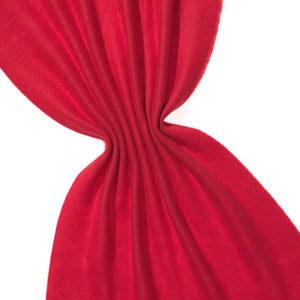 Nålefilt 120 cm - 100g/m, rød