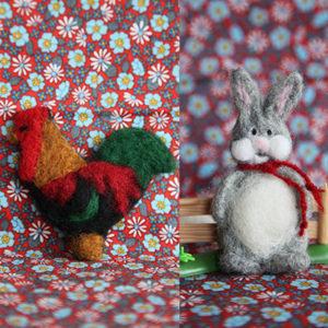 Filting i former hane/hare
