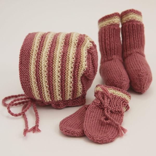 Lue, votter og sokker