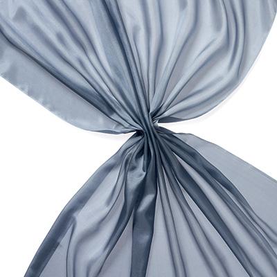 Pongee silke 90 cm - 20 g/m, grå